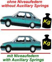 Auxilary-springs Audi