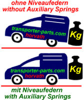 Auxiliary Springs  VW