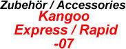 Kangoo / Express / Rapid 97-07