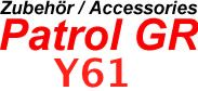 Patrol GR Y61 97-