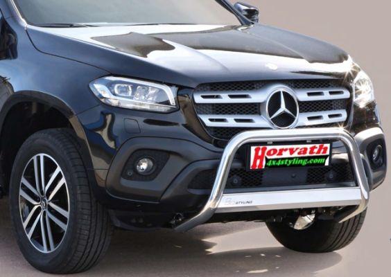 Mercedes X Klasse Pickup Frontbügel, Rammschutz - Mercedes X Klasse Pickup Frontbügel, Rammschutz