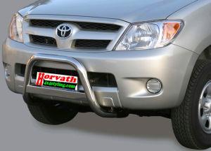 """Rammschutz Edelstahl Typ """" U2-63"""" Dm= 63mm, Toyota Hilux Pickup Bj. 06-11, nicht mit Einparkhilfe"""