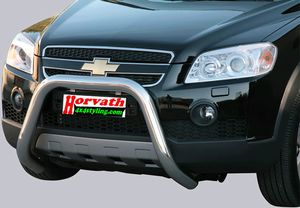 "Rammschutz Edelstahl Typ "" U2-76"" Dm= 76mm, Chevrolet Captiva 06-10"