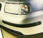 bumpers ledges silver-grey, self-adhesive (4 p.)