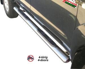 Seitenrammschutz Typ 76 Edelstahl, DM=76mm, Mercedes V-Klasse Vito / Viano 2WD Bj. 03- / 07-