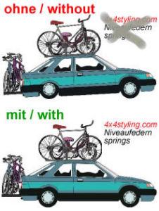 Niveauregulierungsfedern (Ersatzfedern) Seat Toledo 5P Bj.: 11.04-06.09, nicht Ecomotive