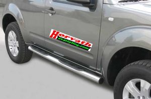 side steps Typ 76 stain-steel, Nissan Pathfinder R51 05-