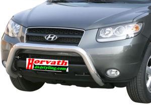 "Rammschutz Edelstahl Typ "" U2-76"" Dm= mächtige 76mm, Hyundai Santa Fe 06-10"