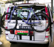 """ski- snow-board and bicycles-rear-carrier Type """"WT"""" for Mercedes Viano / Vito W639 03-14, with rear flap, Maximum load 70 kg"""
