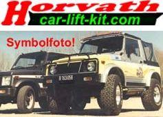 Höherlegungs-Niveaufedern +24mm (LPG Kit) Peugeot 4007 4WD Bj.: 12.07-