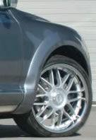 Formverbreiterung PU-Rim, 12-teilig, VW Touareg Typ 7L, R5 / V6 / V8 / V10 Bj. 03-07, nicht für Modell R-line