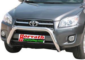 "Rammschutz Edelstahl Typ "" EC-76"" Dm= mächtige 76mm, Toyota Rav4 XA3 09-10"