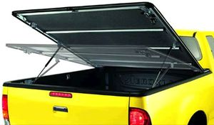 "pickup folding-top ""speedy"" black, rollable, adjustable, Isuzu D-Max / Rodeo 4-doors 07-12"