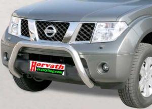 """Rammschutz Edelstahl 76mm Typ """"U76"""" Nissan Pathfinder R51 05-"""