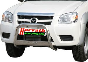 "Bullbar stain-steel 63mm Type ""U-EU"" Mazda Pickup BT50 4-doors 09-"