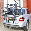 "ski- snow-board and bicycles-rear-carrier Type ""WT"" for Mercedes ML W124 Bj. 07/05-11 with rear flap, no trailer hitch required"