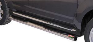 Seitenrammschutz Edelstahl Dm= 76mm Mitsubishi Outlander 2010-