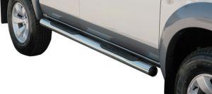 Seitenrammschutz Typ 76 Edelstahl, DM=76mm, Mazda BT50 4-türig Bj. 07-