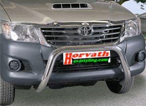 "Frontbügel, Rammschutz Edelstahl, Typ ""U2-76"" Dm= 76mm, Toyota Hilux Pickup, Bj. 11-15"