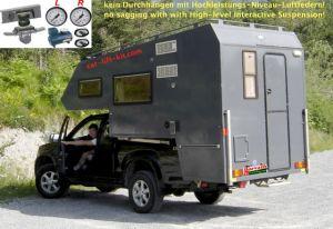 """Hochleistungs-Niveau-Luftfedern Isuzu D-Max, 4WD, Typ ATFS, Bj. 07.12-, Pickup, mit 6"""" Doppelfaltenbalg-System, Ideal für schwere Last, sehr schwere Last, Wohnkabinen, wahlweise automatische Steuerung"""