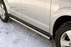 Seitenrammschutz Edelstahl Fiat Freemont Bj. 2011-