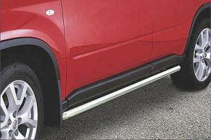 Seitenrammschutz Edelstahl, Dm= 60mm, Nissan X-Trail Bj. 11-14
