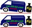 Niveauregulierungsfedern (Zusatzfedern) Ford Transit Custom FWD, Typ FAC/ FCC, Bj. 12-, Radstand L1 und L2, für die Hinterachse, Nicht für Chassis Kabine, nicht mit original Niveauregulierung