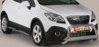 """Rammschutz Edelstahl Typ """"U2-63"""" Dm= 63mm, Opel..."""
