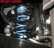 Niveauregulierungsfedern (Zusatzfedern) Opel Corsa A und...