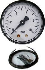 Manometer für Niveau-Luftfedern incl. Montagesatz, ohne Kompressor
