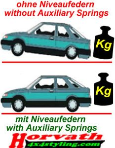 Niveauregulierungsfedern Ford Focus DAW / DBW / DFW Bj.: 10.98..12.04