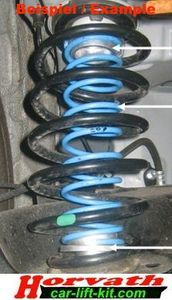 Auxiliary Springs Chevrolet/Daewoo Leganza KLAV By.: 10.97..02.03