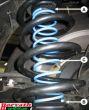 Niveauregulierungsfedern (Zusatzfedern) Nissan Qashqai, Qashqai +2, 2WD, 4WD, Typ J10 und J11 mit Multilink-Achse, Bj. 02.07-