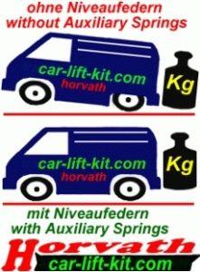 Niveauregulierungsfedern Hyundai H100 K Bj.: 01.94-10.04