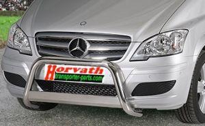 """Rammschutz Edelstahl Typ """"U-EU"""" Dm= 60mm, Mercedes V-Klasse Vito / Viano Bj. 10-14, nicht für Parktronik"""