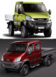 """High-level Interactive Suspension with 8"""" Double air-bellows, Iveco Daily 4x4, Type 35-55 S 17 W and S 18 W, My. 07.2006- / 2012-, single tires, not for extreme terrain"""