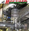 Hochleistungs-Niveau-Luftfedern mit Doppelfaltenbalg-System, Toyota Hilux Revo, Pickup, 4WD, Bj. 2015-