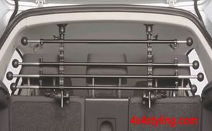 """dog-lattice Type """"R"""" for Hatchback, Combi, with headrest on the backseat, Stepless adjustable, used, good condition"""