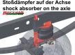Hochleistungs-Zusatzluftfedern Vorderachse, Scania R 730,...