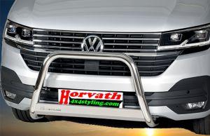 "Frontbügel, Rammschutz Edelstahl Typ ""U63"" Dm= 63mm, VW T6.1, Bj. 19-"