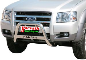 "bull bar stain-steel Typ "" U63"" dm= 63mm,Ford Ranger (not for Wildtrak) 4WD 07-11 Pickup, optional with nameplate"